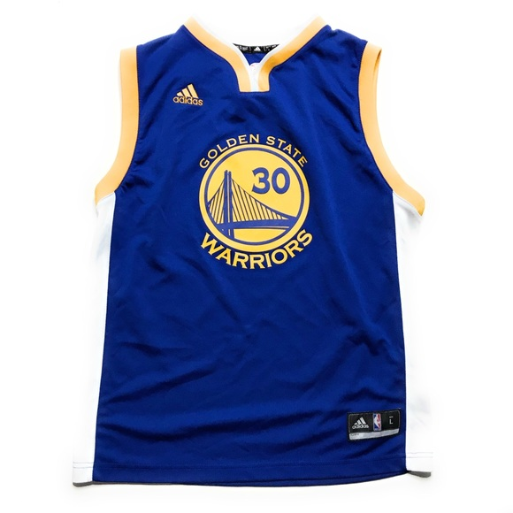 premium selection c7481 6069f Adidas Steph Curry Golden State Warriors Jersey